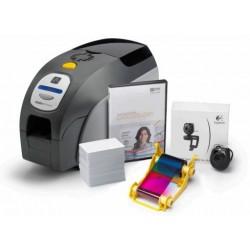 Imprimante cartes plastiques zebra zxp 3 avec kit photo - Imprimante carte pvc ...