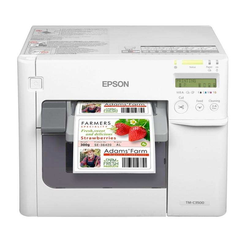 Epson TM-C3500 Imprimante Etiquette Couleur