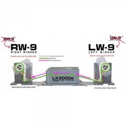 PRIMERA RW-9 / LW-9 Enrouleur - Dérouleur pour les Imprimantes Lx900 et Lx2000