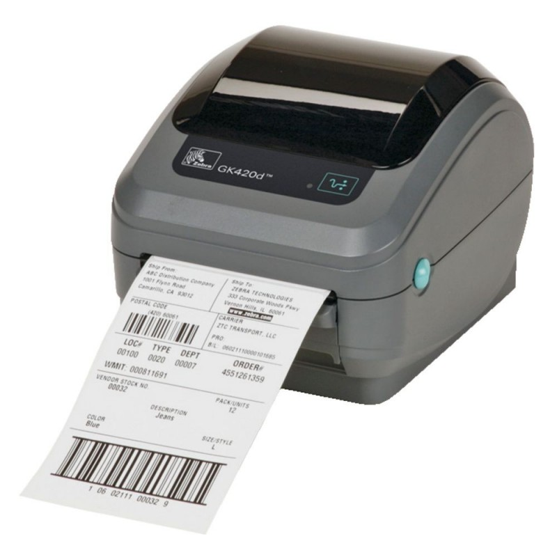 Imprimante 233 Tiquette Zebra Gk420 Imprimante Code Barre
