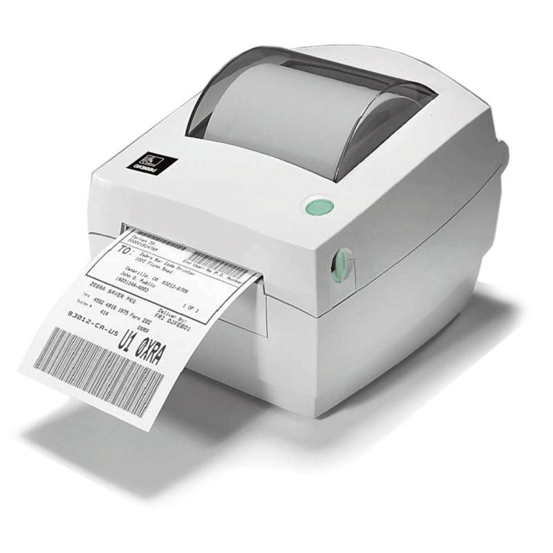 Zebra GC420 Imprimante Etiquette Imprimante code barre logo  texte