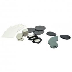 Tag RFID format goute 125 kh gris clair