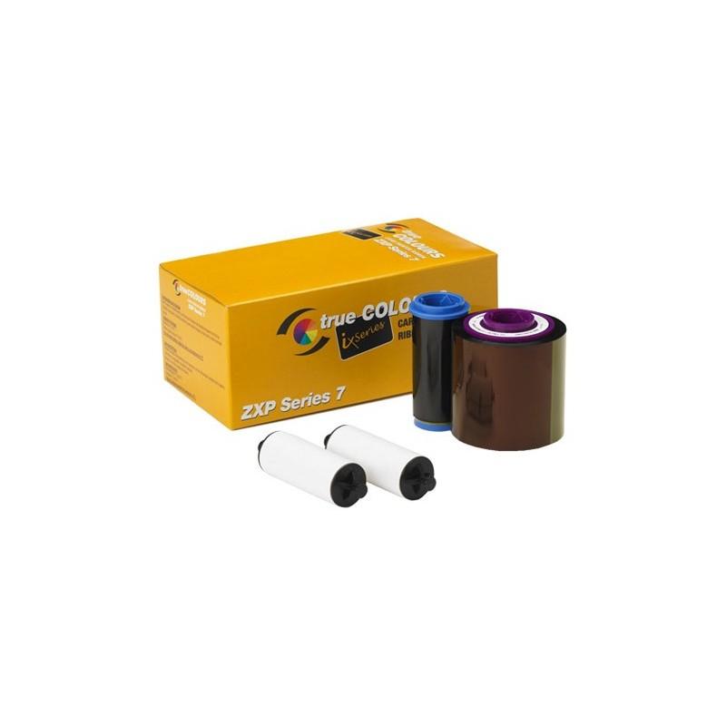 Ruban Couleur YMCKO pour Imprimante Zebra ZXP Series 7