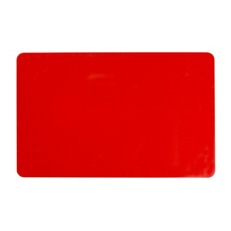 Carte Plastique - PVC de Couleur (Badge)