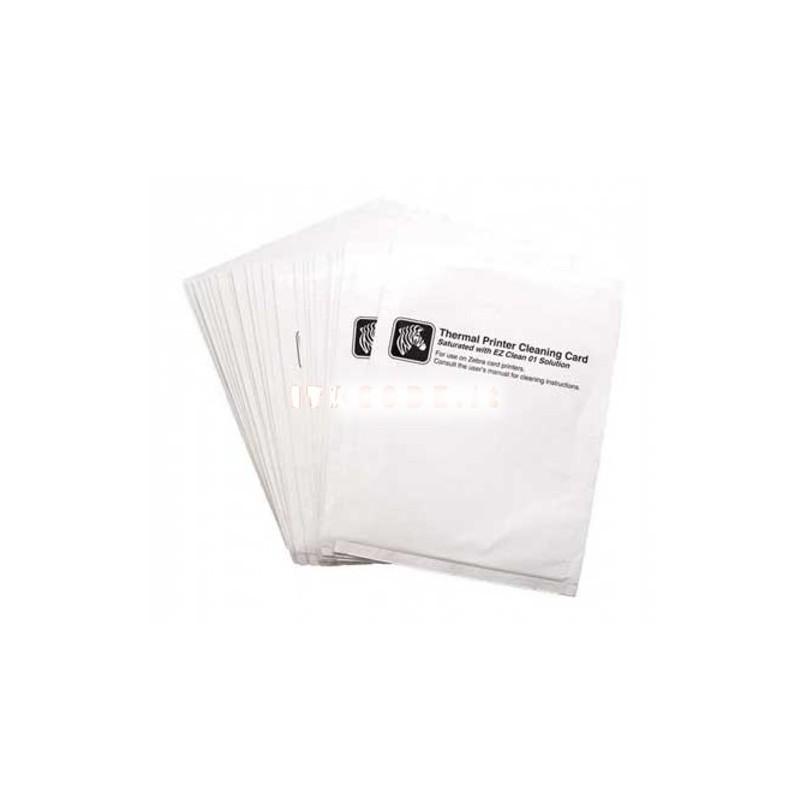 ZEBRA ZC100 - ZC300 5 Cartes de nettoyage