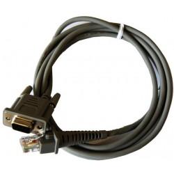Câble RS232 pour lecteur codes barres DATALOGIC