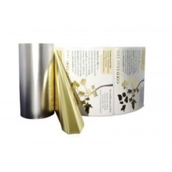 Ruban Métallique Bronze pour Pelliculeuse PRIMERA FX400/FX500 110mm x 300m