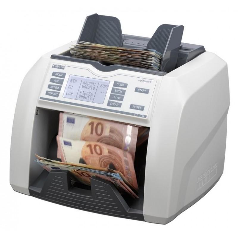 Compteur et détecteur de faux billets Ratiotec T200/T225/T275