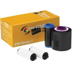 Ruban monochrome Noir pour Zebra ZXP series 7