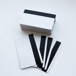 Cartes PVC avec bande...