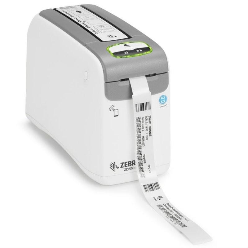 Zebra ZD510-HC impirmante de bracelets pour les hôpitaux