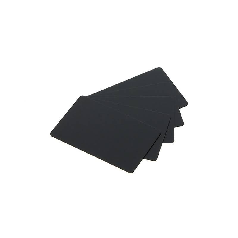 Cartes plastiques noires vierges - Imprimante carte pvc ...