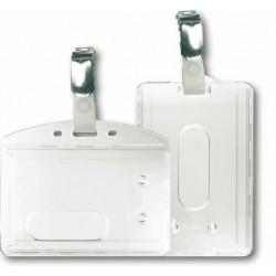 Porte-badge avec clip