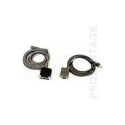 Câble RS232 Spiral pour les...