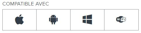 Compatible Windows, Mac, Android