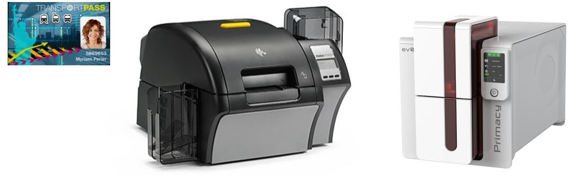 imprimante carte PVC